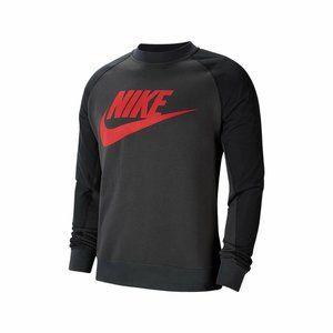 * Nike Men's Graphic Hybrid Crew Neck Sweatshirt G